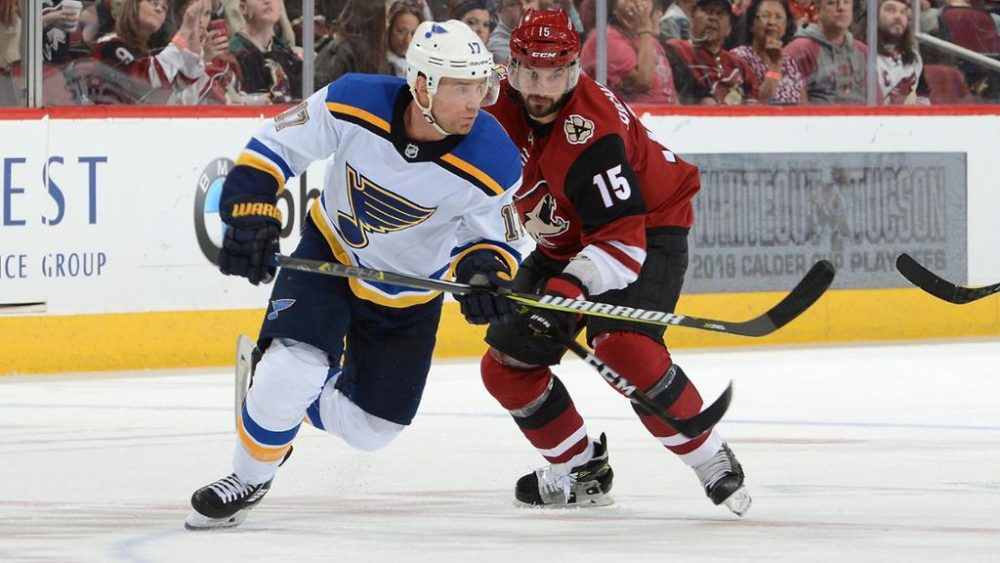 BETTING PREVIEW: Blues at Coyotes Betting Preview: 02/12/2021