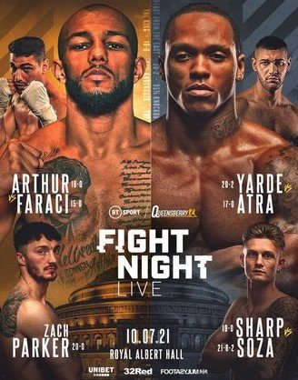 July 10th Fight Night Boxing Bets