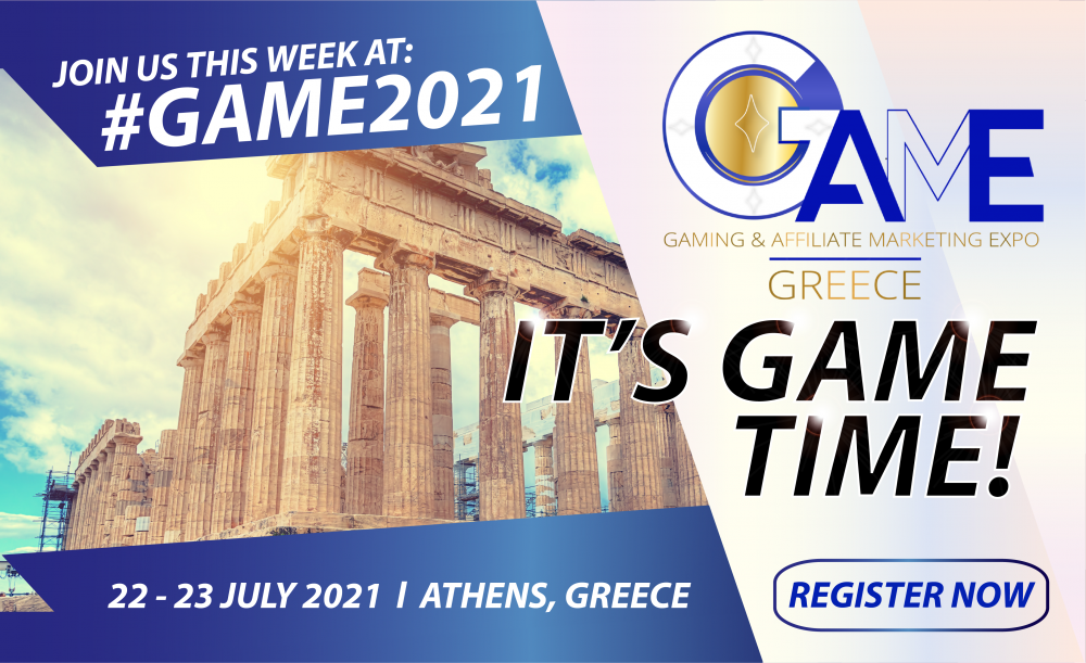 """This Week, """"It's GAME Time"""" – Says Eventus International, With GAME Greece Kicking Off on 22 July 2021"""