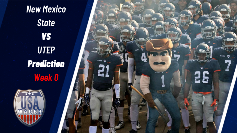 New Mexico State vs UTEP Prediction & Football Odds for Week 0