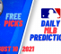 USA Wager Daily MLB Predictions August 10, 2021
