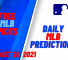 USA Wager MLB Predictions August 20, 2021