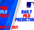 USA Wager MLB Predictions August 23, 2021