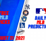 USA Wager MLB Predictions August 31, 2021