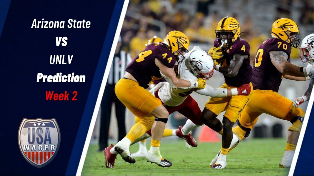 Arizona State vs UNLV Prediction & College Football Odds for Week 2