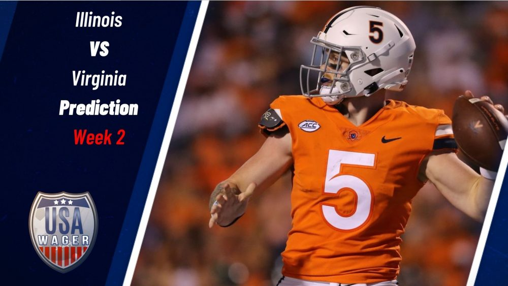 Illinois vs Virginia Prediction & College Football Odds for Week 2