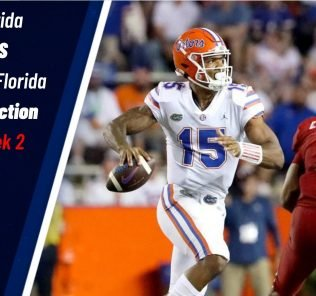 Florida vs South Florida Prediction & College Football Odds for Week 2