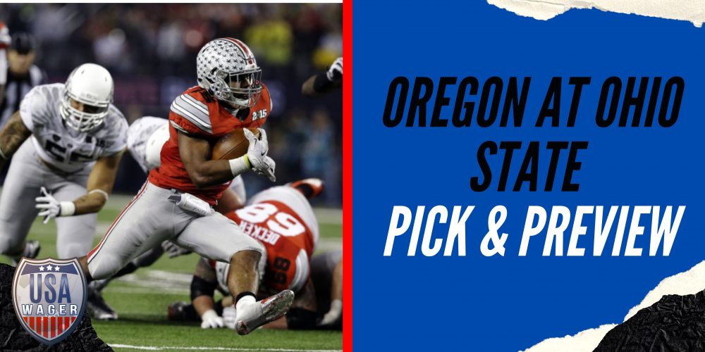 Oregon at Ohio State Pick & Preview - College Football Week 2