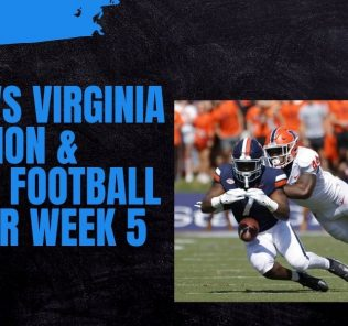 Miami vs Virginia Prediction & College Football Odds for Week 5