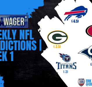 USA Wager NFL Predictions Week 1 September 9, 2021