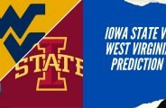 Iowa State vs West Virginia Prediction & College Football Odds for Week 9