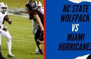 NC State Wolfpack vs Miami Hurricanes Prediction & College Football Odds for Week 8